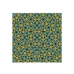 Arabesque Seamless Pattern Satin Bandana Scarf by dflcprints