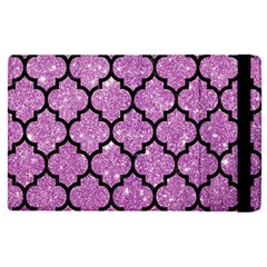 Tile1 Black Marble & Purple Glitter Apple Ipad Pro 9 7   Flip Case by trendistuff