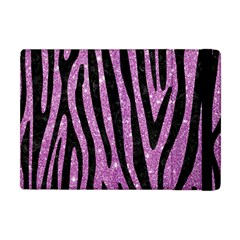 Skin4 Black Marble & Purple Glitter (r) Apple Ipad Mini Flip Case by trendistuff