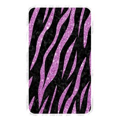 Skin3 Black Marble & Purple Glitter (r) Memory Card Reader
