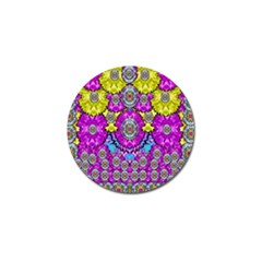 Fantasy Bloom In Spring Time Lively Colors Golf Ball Marker (10 Pack) by pepitasart