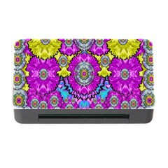 Fantasy Bloom In Spring Time Lively Colors Memory Card Reader With Cf by pepitasart