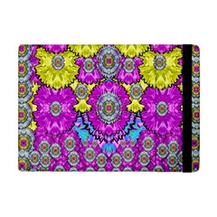 Fantasy Bloom In Spring Time Lively Colors Apple Ipad Mini Flip Case by pepitasart