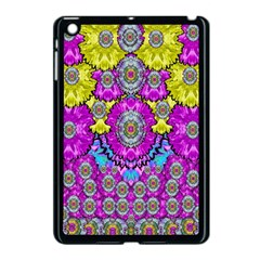 Fantasy Bloom In Spring Time Lively Colors Apple Ipad Mini Case (black) by pepitasart