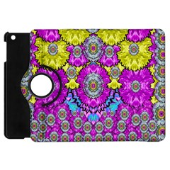 Fantasy Bloom In Spring Time Lively Colors Apple Ipad Mini Flip 360 Case by pepitasart