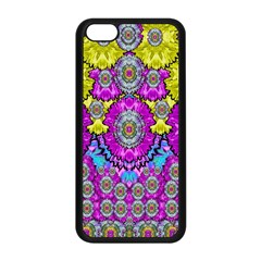 Fantasy Bloom In Spring Time Lively Colors Apple Iphone 5c Seamless Case (black) by pepitasart