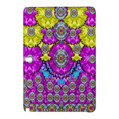 Fantasy Bloom In Spring Time Lively Colors Samsung Galaxy Tab Pro 10 1 Hardshell Case by pepitasart