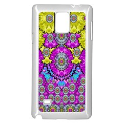 Fantasy Bloom In Spring Time Lively Colors Samsung Galaxy Note 4 Case (white) by pepitasart