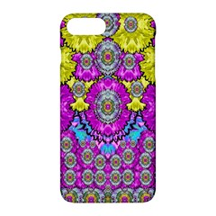 Fantasy Bloom In Spring Time Lively Colors Apple Iphone 7 Plus Hardshell Case by pepitasart
