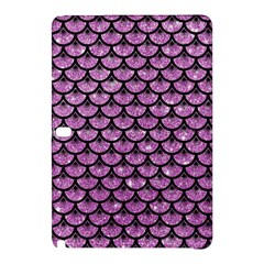 Scales3 Black Marble & Purple Glitter Samsung Galaxy Tab Pro 10 1 Hardshell Case by trendistuff