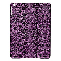 Damask2 Black Marble & Purple Glitter (r) Ipad Air Hardshell Cases by trendistuff