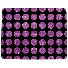 Circles1 Black Marble & Purple Glitter (r) Jigsaw Puzzle Photo Stand (rectangular) by trendistuff