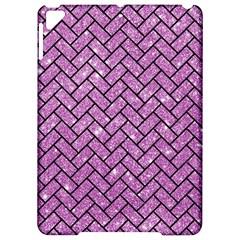 Brick2 Black Marble & Purple Glitter Apple Ipad Pro 9 7   Hardshell Case by trendistuff