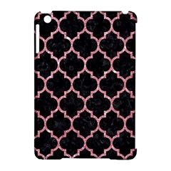 Tile1 Black Marble & Pink Glitter (r) Apple Ipad Mini Hardshell Case (compatible With Smart Cover) by trendistuff