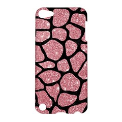 Skin1 Black Marble & Pink Glitter (r) Apple Ipod Touch 5 Hardshell Case by trendistuff