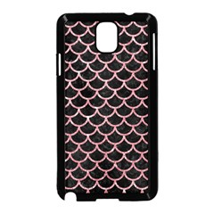 Scales1 Black Marble & Pink Glitter (r) Samsung Galaxy Note 3 Neo Hardshell Case (black) by trendistuff