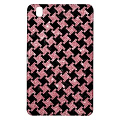Houndstooth2 Black Marble & Pink Glitter Samsung Galaxy Tab Pro 8 4 Hardshell Case by trendistuff