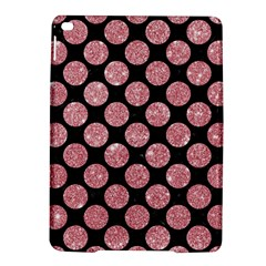 Circles2 Black Marble & Pink Glitter (r) Ipad Air 2 Hardshell Cases
