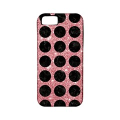 Circles1 Black Marble & Pink Glitter Apple Iphone 5 Classic Hardshell Case (pc+silicone) by trendistuff