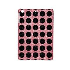 Circles1 Black Marble & Pink Glitter Ipad Mini 2 Hardshell Cases by trendistuff