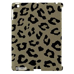 Skin5 Black Marble & Khaki Fabric (r) Apple Ipad 3/4 Hardshell Case (compatible With Smart Cover) by trendistuff