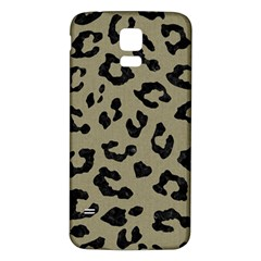 Skin5 Black Marble & Khaki Fabric (r) Samsung Galaxy S5 Back Case (white) by trendistuff