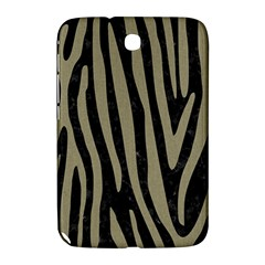 Skin4 Black Marble & Khaki Fabric Samsung Galaxy Note 8 0 N5100 Hardshell Case  by trendistuff