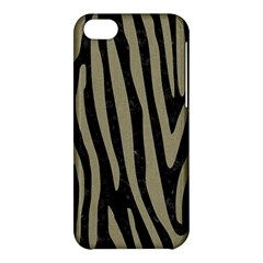 Skin4 Black Marble & Khaki Fabric Apple Iphone 5c Hardshell Case by trendistuff