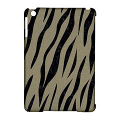 Skin3 Black Marble & Khaki Fabric Apple Ipad Mini Hardshell Case (compatible With Smart Cover) by trendistuff