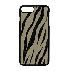Skin3 Black Marble & Khaki Fabric Apple Iphone 8 Plus Seamless Case (black) by trendistuff