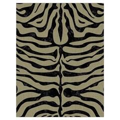 Skin2 Black Marble & Khaki Fabric Drawstring Bag (large)