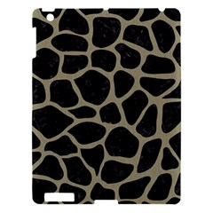 Skin1 Black Marble & Khaki Fabric Apple Ipad 3/4 Hardshell Case by trendistuff
