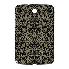 Damask2 Black Marble & Khaki Fabric Samsung Galaxy Note 8 0 N5100 Hardshell Case  by trendistuff