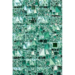 Modern Geo Fun, Teal 5 5  X 8 5  Notebooks by MoreColorsinLife
