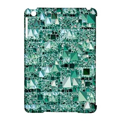 Modern Geo Fun, Teal Apple Ipad Mini Hardshell Case (compatible With Smart Cover) by MoreColorsinLife