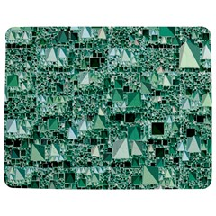 Modern Geo Fun, Teal Jigsaw Puzzle Photo Stand (rectangular) by MoreColorsinLife