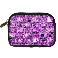 Modern Geo Fun,lilac Digital Camera Cases by MoreColorsinLife