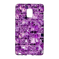 Modern Geo Fun,lilac Galaxy Note Edge by MoreColorsinLife