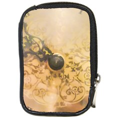 Old Wall Clock Vintage Style Photo Compact Camera Cases