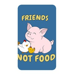 Friends Not Food   Cute Pig And Chicken Memory Card Reader by Valentinaart