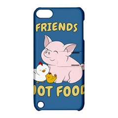 Friends Not Food   Cute Pig And Chicken Apple Ipod Touch 5 Hardshell Case With Stand by Valentinaart