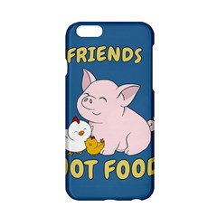 Friends Not Food   Cute Pig And Chicken Apple Iphone 6/6s Hardshell Case by Valentinaart
