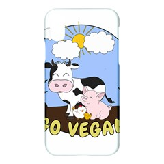 Friends Not Food   Cute Cow, Pig And Chicken Apple Iphone X Hardshell Case by Valentinaart