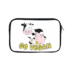 Friends Not Food   Cute Cow, Pig And Chicken Apple Macbook Pro 13  Zipper Case by Valentinaart