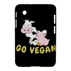 Friends Not Food   Cute Cow, Pig And Chicken Samsung Galaxy Tab 2 (7 ) P3100 Hardshell Case  by Valentinaart