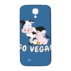 Friends Not Food   Cute Cow, Pig And Chicken Samsung Galaxy S4 I9500/i9505  Hardshell Back Case by Valentinaart