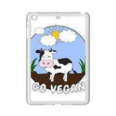 Friends Not Food   Cute Cow Ipad Mini 2 Enamel Coated Cases by Valentinaart