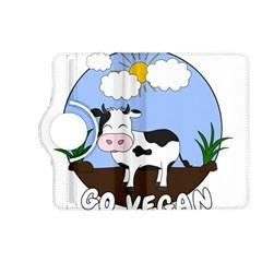 Friends Not Food   Cute Cow Kindle Fire Hd (2013) Flip 360 Case by Valentinaart