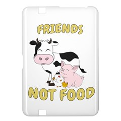 Friends Not Food   Cute Cow, Pig And Chicken Kindle Fire Hd 8 9  by Valentinaart