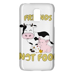 Friends Not Food   Cute Cow, Pig And Chicken Galaxy S5 Mini by Valentinaart